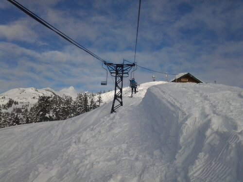 alaska skiing mt eyak chairlift