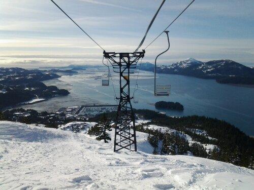 mt eyak cordova alaska skiing