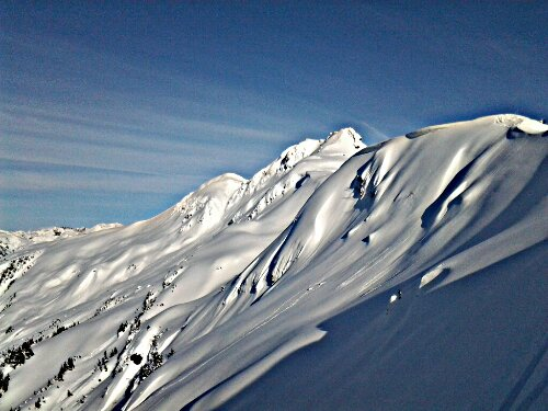 mt eyak alaska skiing sidecountry