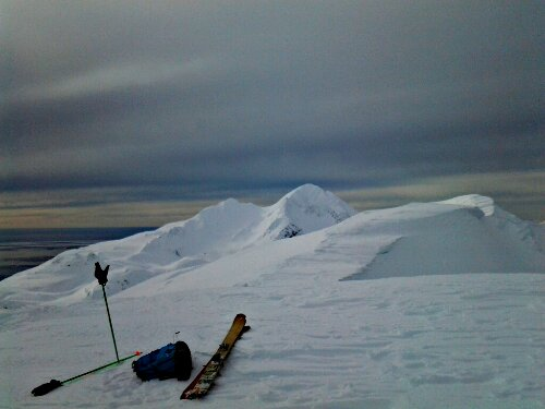 alaska skiing wolverine ridge cordova